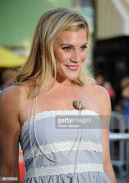 Actress Katee Sackhoff arrives at the Premiere Of Warner Bros 'Orphan' at the Mann Village Theatre on July 21 2009 in Westwood Los Angeles California