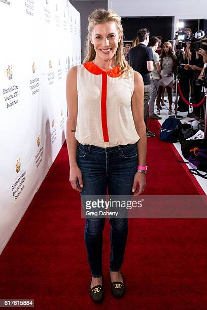 Actress Katee Sackhoff arrives for the Elizabeth Glaser Pediatric AIDS Foundation's 27th Annual A Time For Heroes at Smashbox Studios on October 23...