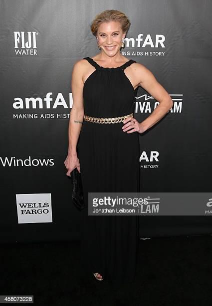 Actress Katee Sackhoff attends amfAR LA Inspiration Gala honoring Tom Ford at Milk Studios on October 29, 2014 in Hollywood, California.
