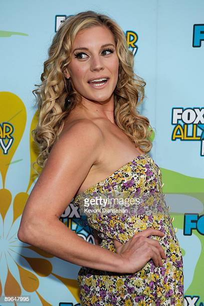 Actress Katee Sackhoff attends the 2009 FOX AllStar Party held at the Langham Hotel on August 6 2009 in Pasadena California