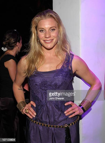 **EXCLUSIVE** Actress Katee Sackhoff attends the Entertainment Weekly and Women in Film preEmmy Party presented by Maybelline Colorsensational held...
