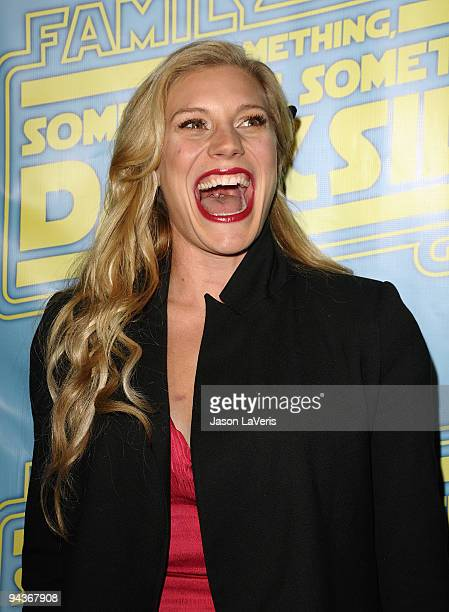 Actress Katee Sackhoff attends the 'Family Guy Something Something Something Dark Side' DVD release party on December 12 2009 in Beverly Hills...