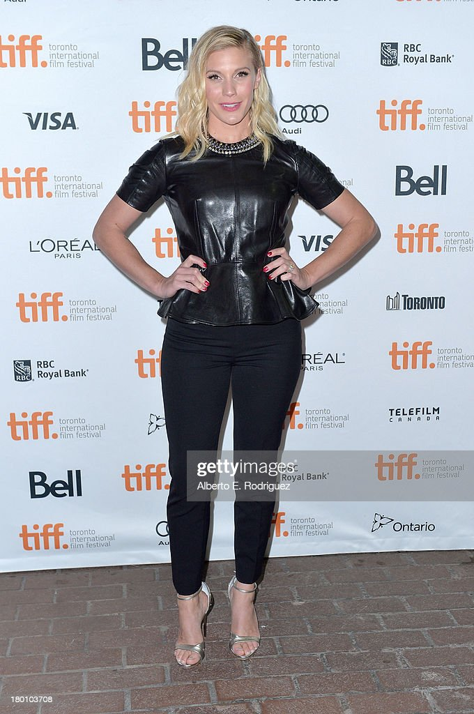 Actress Katee Sackhoff attends the 'Oculus' premiere during the 2013 Toronto International Film Festival at Ryerson Theatre on September 8, 2013 in Toronto, Canada.