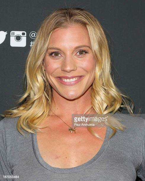 Actress Katee Sackhoff attends TV Guide magazine's annual Hot List Party at The Emerson Theatre on November 4 2013 in Hollywood California