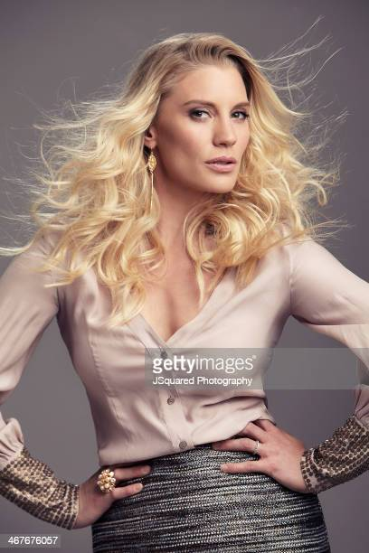 Actress Katee Sackhoff is photographed for Glamoholic on August 9, 2013 in Los Angeles, California. PUBLISHED IMAGE.