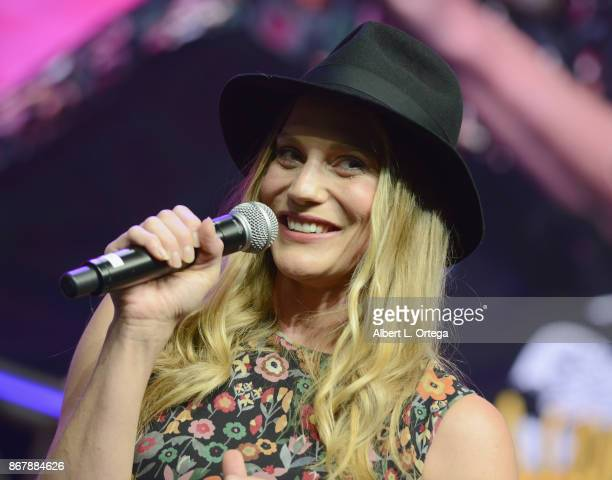 Actress Katee Sackhoff on day 2 of Stan Lee's Los Angeles Comic Con 2017 held at Los Angeles Convention Center on October 28 2017 in Los Angeles...