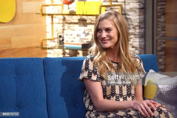 Actress Katee Sackhoff on stage during The IMDb Show on November 16 2017 in Studio City California The show airs on December 15
