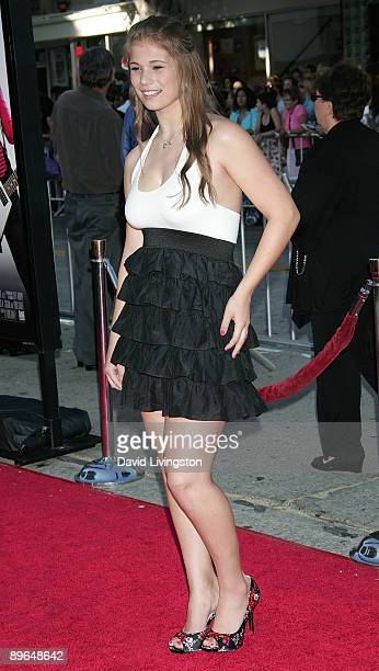 Actress Katelyn Pippy attends the premiere of Summit Entertainment's 'Bandslam' at Mann Village Theatre on August 6 2009 in Los Angeles California
