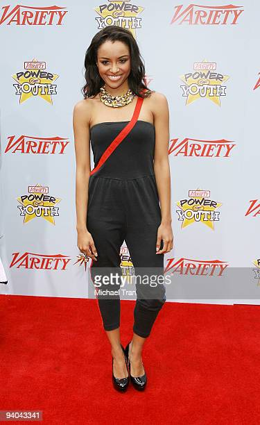 Actress Katerina Graham arrives to Variety's 3rd Annual Power of Youth event held at the Paramount Studios backlot on December 5 2009 in Los Angeles...