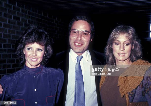 Actress Katerine Baumann actor Richard Fisher and Sandahl Bergman attend the 'Murder Me Murder You' West Hollywood Premiere on April 6 1983 at DGA...