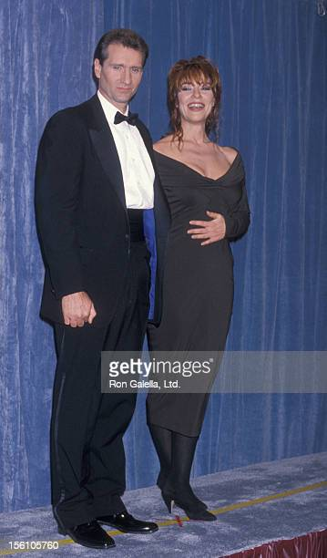Actress Katey Sagal and actor Ed O'Neill attending 41st Annual Primetime Emmy Awards on September 17 1989 at the Pasadena Civic Auditorium in...
