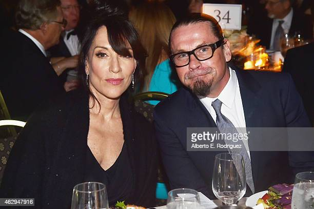 Actress Katey Sagal and producer Kurt Sutter attend the 67th Annual Directors Guild Of America Awards at the Hyatt Regency Century Plaza on February...