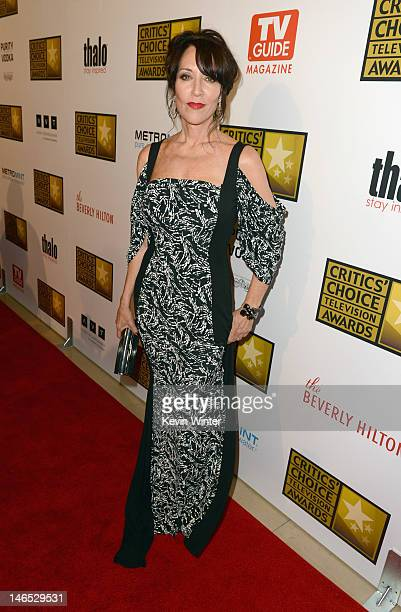 Actress Katey Sagal arrives at Broadcast Television Journalists Association Second Annual Critics' Choice Awards at The Beverly Hilton Hotel on June...