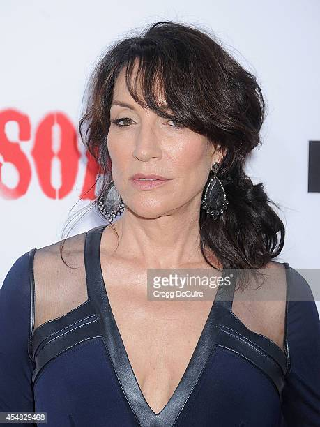 Actress Katey Sagal arrives at FX's Sons Of Anarchy premiere at TCL Chinese Theatre on September 6 2014 in Hollywood California
