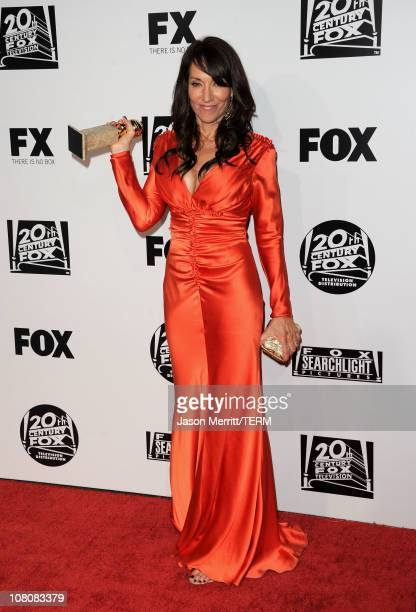 Actress Katey Sagal arrives at the Fox Searchlight 2011 Golden Globe Awards Party held at The Beverly Hilton hotel on January 16 2011 in Beverly...