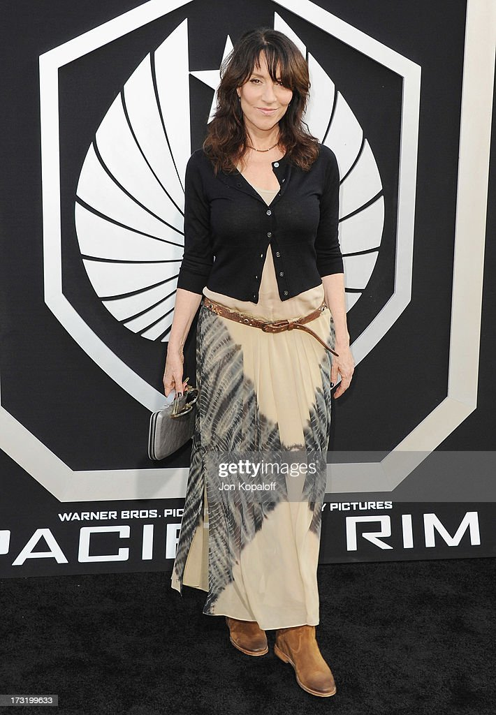 Actress Katey Sagal arrives at the Los Angeles Premiere 'Pacific Rim' at Dolby Theatre on July 9, 2013 in Hollywood, California.