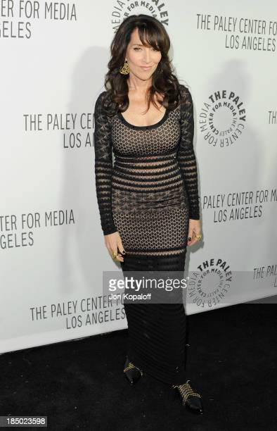 Actress Katey Sagal arrives at The Paley Center for Media Hosts 2013 Benefit Gala Honoring FX Networks on October 16 2013 in Los Angeles California