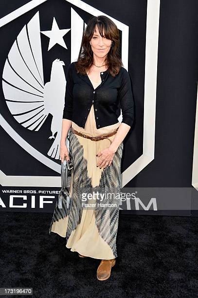 """Actress Katey Sagal arrives at the premiere of Warner Bros. Pictures' and Legendary Pictures' """"Pacific Rim"""" at Dolby Theatre on July 9, 2013 in..."""