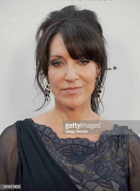 """Actress Katey Sagal arrives at the """"Sons of Anarchy"""" season 5 premiere screening at Westwood Village on September 8, 2012 in Los Angeles, California."""