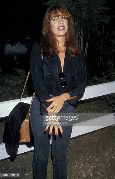 Actress Katey Sagal attending 'Free Arts Party' on July 29 1989 at Calamigos Ranch in Los Angeles California