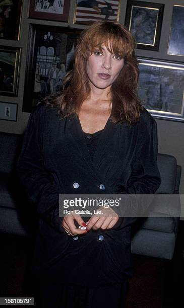 Actress Katey Sagal attending 'Housing Now Celebrity Press Conference' on July 25 1989 in Los Angeles California