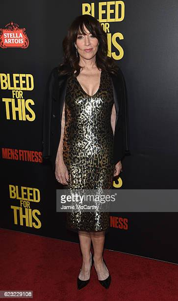 Actress Katey Sagal attends as Open Road with Men's Fitness host the premiere of Bleed For This at AMC Lincoln Square Theater on November 14 2016 in...