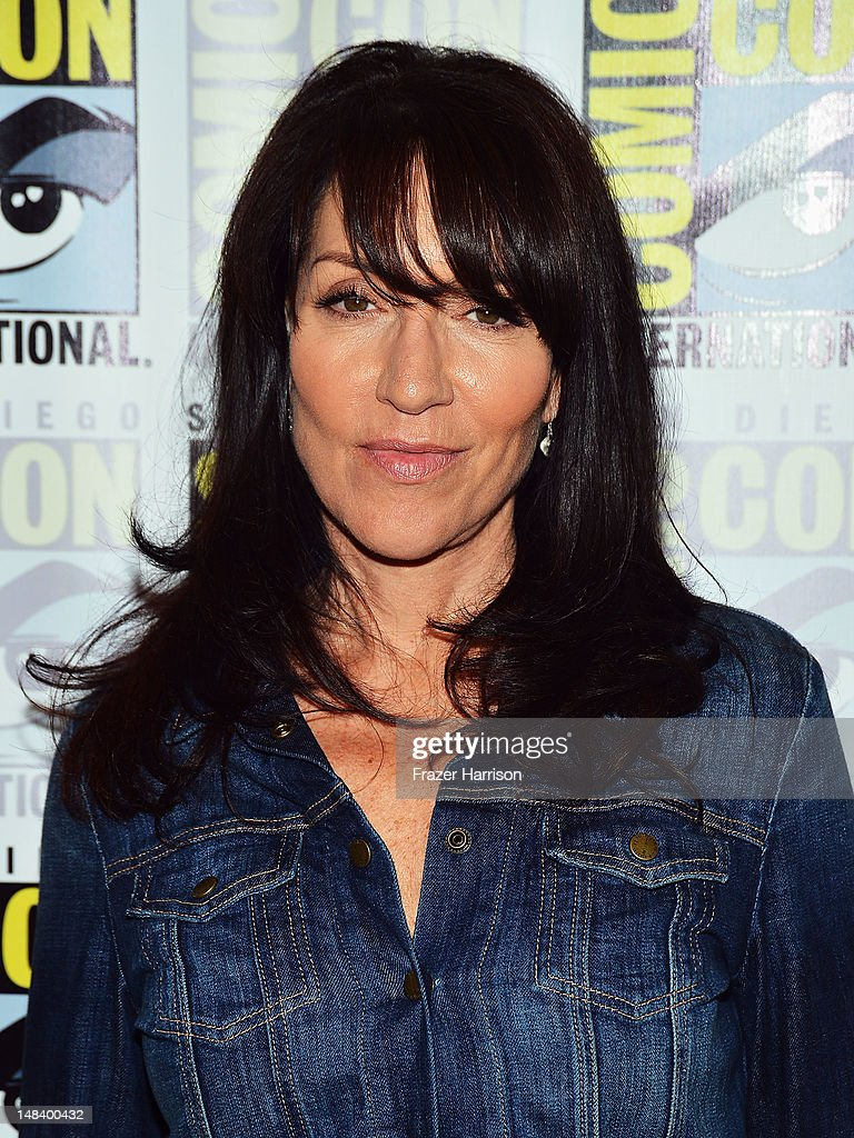 Actress Katey Sagal attends 'Sons of Anarchy' press line during Comic-Con International 2012 at Hilton San Diego Bayfront Hotel on July 15, 2012 in San Diego, California.