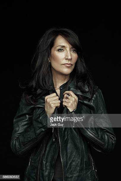 Actress Katey Sagal is photographed for Emmy Magazine on April 26 2012 in Los Angeles California