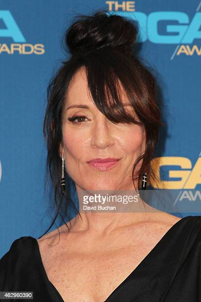 Actress Katey Sagal poses in the press room at the 67th Annual Directors Guild Of America Awards at the Hyatt Regency Century Plaza on February 7...
