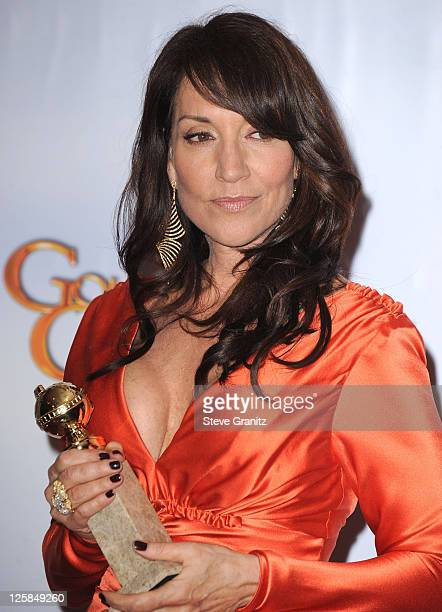 Actress Katey Sagal poses in the press room at the 68th Annual Golden Globe Awards held at The Beverly Hilton hotel on January 16 2011 in Beverly...