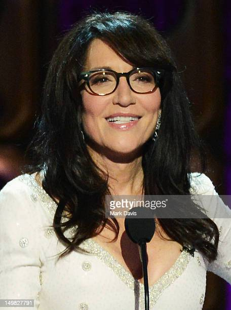 Actress Katey Sagal speaks onstage at the Comedy Central Roast of Roseanne Barr at Hollywood Palladium on August 4, 2012 in Hollywood, California.
