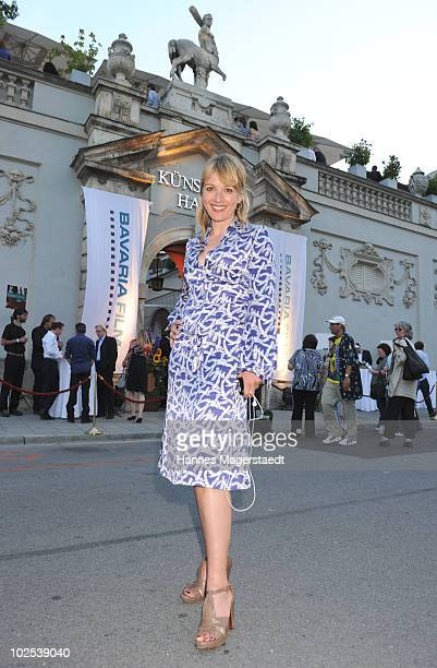 Actress Katharina Abt attends the 'Bavaria Reception' during the Munich Film Festival at the Kuenstlerhaus on June 29 2010 in Munich Germany