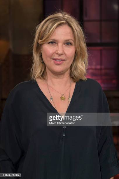 Actress Katharina Boehm attends the Koelner Treff TV Show at the WDR Studio on August 22, 2019 in Cologne, Germany.