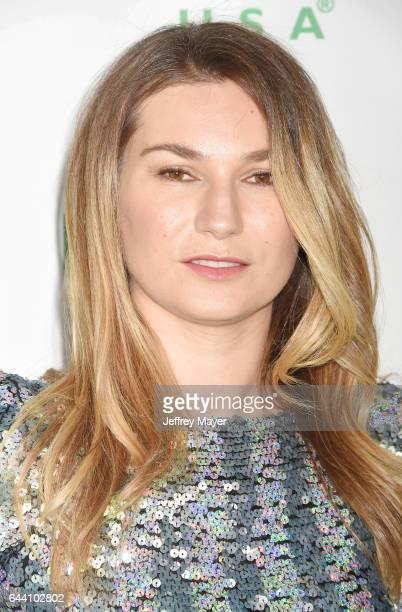 Actress Katharina Kowalewski arrives at the 14th Annual Global Green PreOscar Gala at TAO Hollywood on February 22 2017 in Los Angeles California