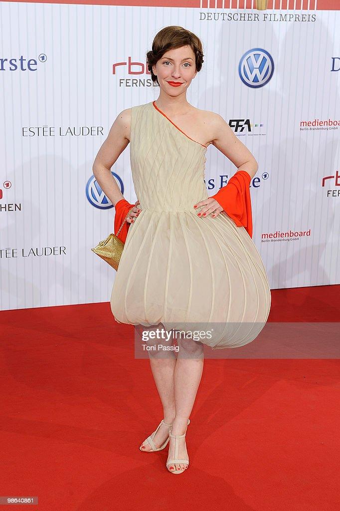 Deutscher Filmpreis 2010 - Arrivals : Nachrichtenfoto