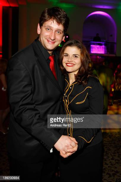 Actress Katharina Wackernagel and actor Sebastian Schwarz attend the Tele 5 Director's Cut during the 62nd Berlinale International Film Festival at...