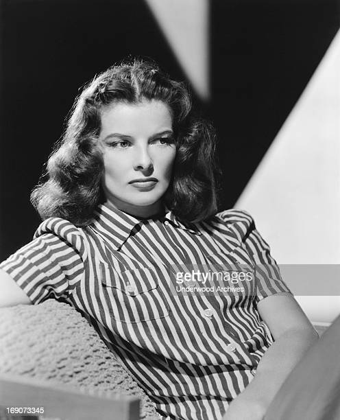 Actress Katharine Hepburn as Christine Forrest in the film 'Keeper of the Flame' Hollywood California 1942