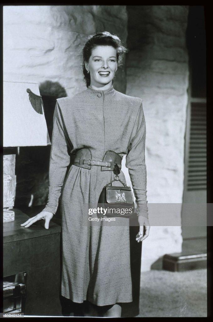 Actress Katharine Hepburn... : News Photo