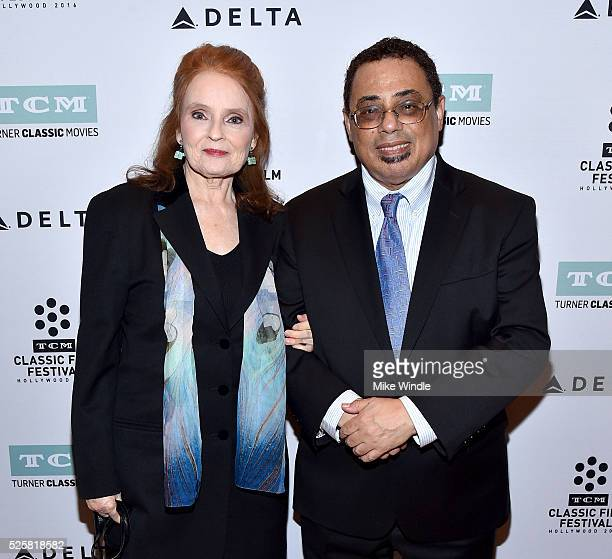 Actress Katharine Houghton and author Donald Bogle attend 'Guess Who's Coming To Dinner' screening during day 1 of the TCM Classic Film Festival 2016...