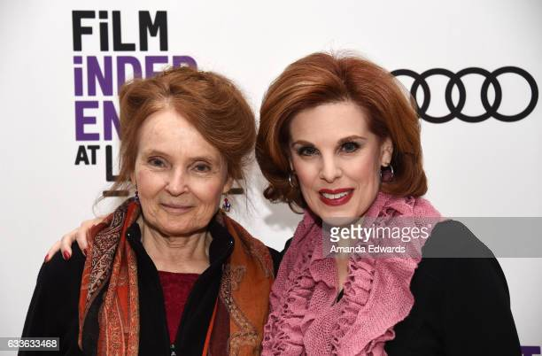 Actress Katharine Houghton and producer Kat Kramer attend the Film Independent Screening and QA of Guess Who's Coming To Dinner at LACMA on February...