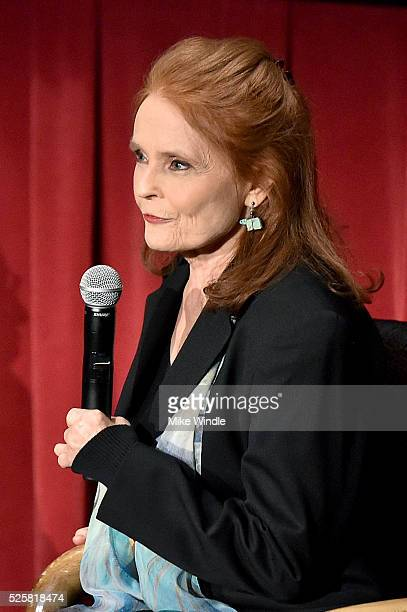 Actress Katharine Houghton attends 'Guess Who's Coming To Dinner' screening during day 1 of the TCM Classic Film Festival 2016 on April 28 2016 in...