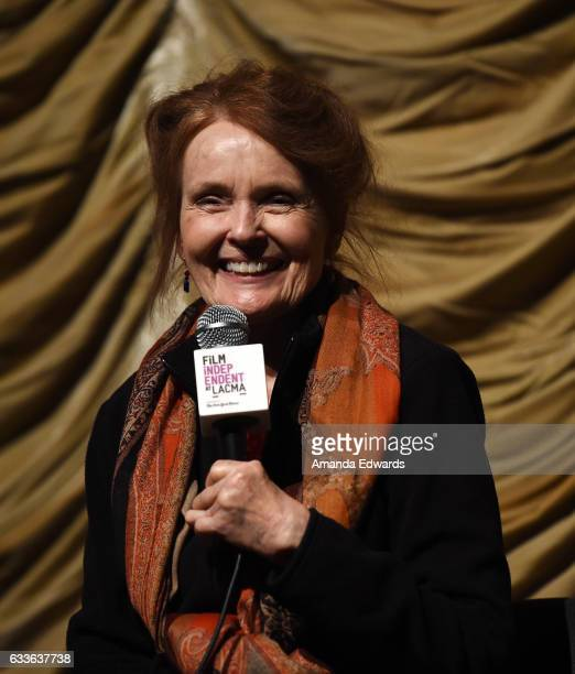 Actress Katharine Houghton attends the Film Independent Screening and QA of Guess Who's Coming To Dinner at LACMA on February 2 2017 in Los Angeles...