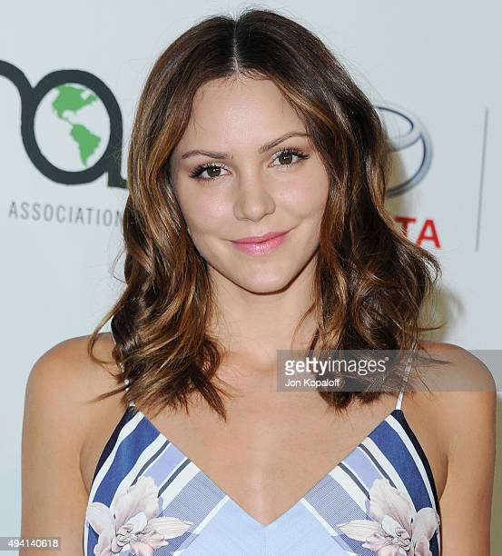 Actress Katharine McPhee arrives at Environmental Media Association Hosts Its 25th Annual EMA Awards Presented By Toyota And Lexus at Warner Bros...