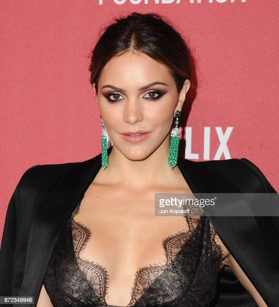 Actress Katharine McPhee arrives at SAGAFTRA Foundation Patron of the Artists Awards 2017 on November 9 2017 in Beverly Hills California