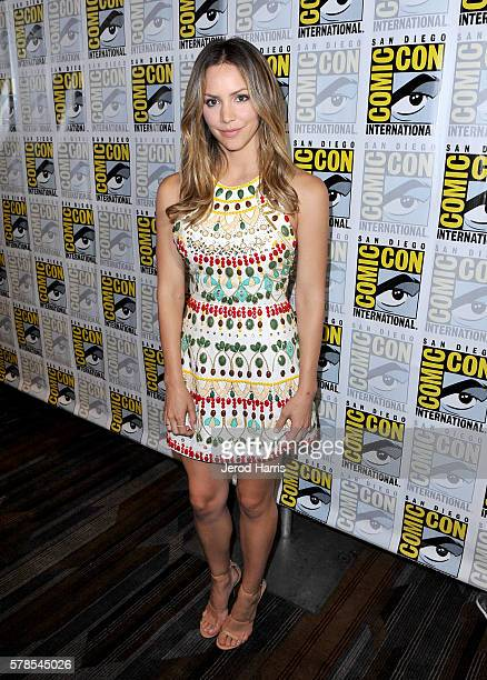 Actress Katharine McPhee attends CBS Fan Favorites Press Line during ComicCon International 2016 at Hilton Bayfront on July 23 2016 in San Diego...