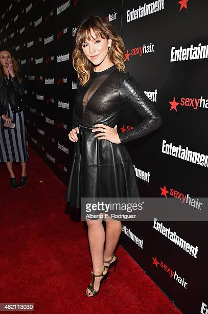 Actress Katharine McPhee attends Entertainment Weekly's celebration honoring the 2015 SAG awards nominees at Chateau Marmont on January 24 2015 in...