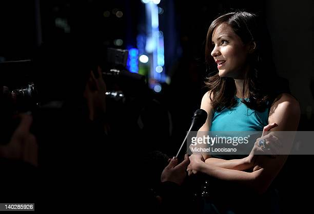 Actress Katharine McPhee attends Escape To Total Rewards at Gotham Hall on March 1 2012 in New York City