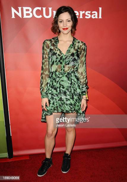 Actress Katharine McPhee attends the 2013 NBC TCA Winter Press Tour at The Langham Huntington Hotel and Spa on January 6, 2013 in Pasadena,...