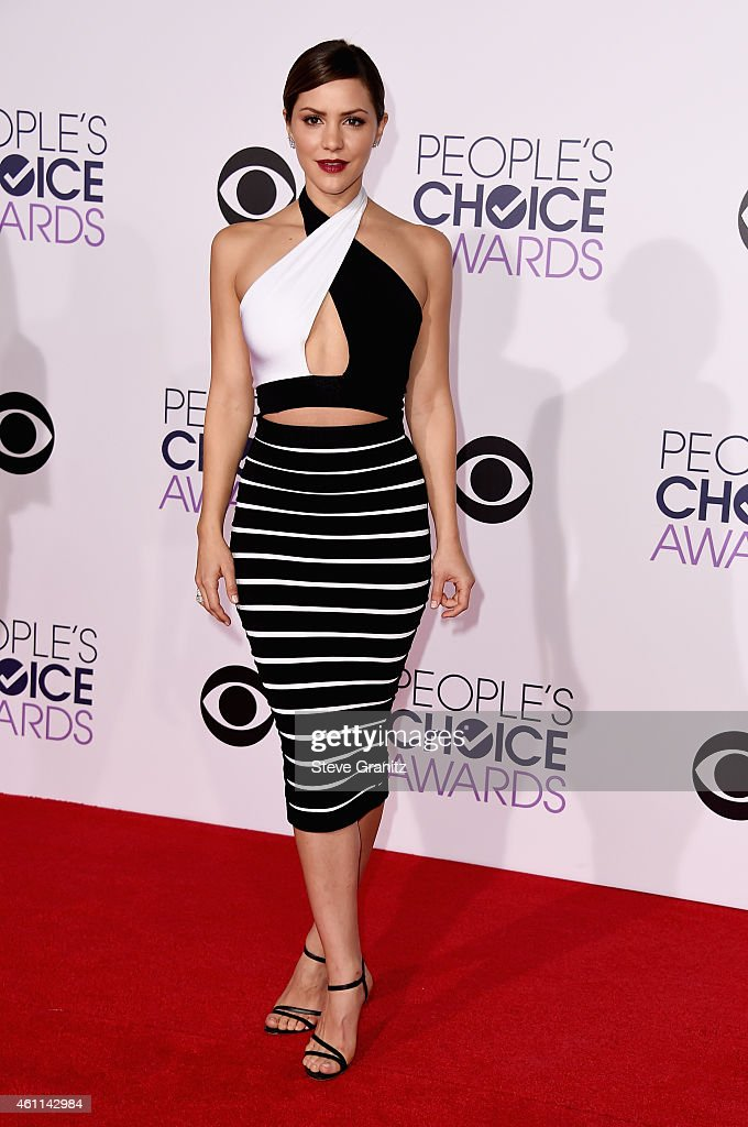 Actress Katharine McPhee attends The 41st Annual People's Choice Awards at Nokia Theatre LA Live on January 7, 2015 in Los Angeles, California.