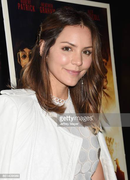 Actress Katharine McPhee attends the Premiere Of Epic Pictures Releasings' 'Last Rampage' at ArcLight Cinemas on September 21 2017 in Hollywood...